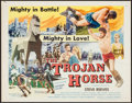 "Movie Posters:Action, The Trojan Horse (Colorama, 1961). Half Sheet (22"" X 28""). Action.. ..."