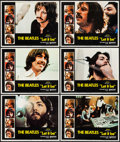 "Movie Posters:Rock and Roll, Let It Be (United Artists, 1970). Lobby Cards (6) (11"" X 14""). Rock and Roll.. ... (Total: 6 Items)"