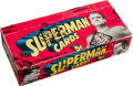 "Non-Sport Cards:Unopened Packs/Display Boxes, 1966 Topps ""Superman"" Wax Box With 24 Unopened Packs. ..."