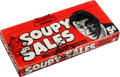 Non-Sport Cards:Unopened Packs/Display Boxes, 1965 Topps Soupy Sales Unopened Wax Box With 24 Packs. ...