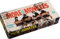 """Non-Sport Cards:Unopened Packs/Display Boxes, 1967 Donruss """"More of the Monkees"""" Series 2 Wax Box With 24 Packs...."""