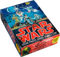 Non-Sport Cards:Singles (Pre-1950), 1977 Topps Star Wars Series 1 Wax Box With 36 Unopened Packs. ...
