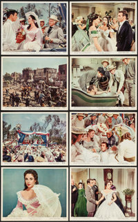 """Raintree County (MGM, 1957). Color Photo Set of 16 (8"""" X 10""""). Romance. ... (Total: 16 Items)"""