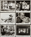 """Movie Posters:Hitchcock, Rear Window (Paramount, R-1962). Photos (18) (8"""" X 10"""").Hitchcock.. ... (Total: 18 Items)"""