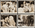 "Movie Posters:Romance, Red Dust (MGM, R-1963). Photos (4) (8"" X 10""). Romance.. ... (Total: 4 Items)"