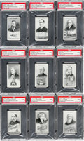 Non-Sport Cards:Sets, 1934 R. & J. Hill Ltd. Inventors and Their Inventions CompleteSet (20) - #1 on the PSA Set Registry. ...