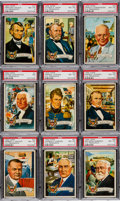 "Non-Sport Cards:Sets, 1956 Topps ""U.S. Presidents"" PSA Graded Complete Set (36) - #16 onthe PSA Set Registry. ..."
