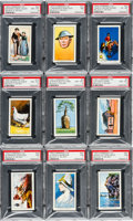 Non-Sport Cards:Sets, 1934 Carreras Ltd. Believe It or Not Complete Set (50) - #5 on thePSA Set Registry. ...