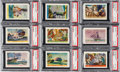 "Non-Sport Cards:Sets, 1936 F375 Pac-Kups ""Jolly Roger Pirates"" Complete Set (48) - #16 onthe PSA Set Registry. ..."