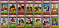 Football Cards:Sets, 1963 Topps Football Complete Set (170) - #6 on the PSA Set Registry. ...