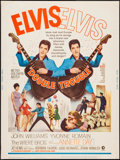 "Movie Posters:Elvis Presley, Double Trouble (MGM, 1967). Poster (30"" X 40""). Elvis Presley.. ..."