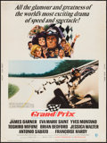 "Movie Posters:Sports, Grand Prix (MGM, 1967). Poster (30"" X 40""). Sports.. ..."