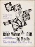 """Movie Posters:Drama, The Misfits (United Artists, 1961). Poster (30"""" X 40""""). Drama.. ..."""