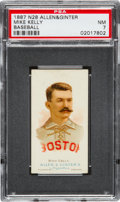 Baseball Cards:Singles (Pre-1930), 1887 N28 Allen & Ginter King Kelly PSA NM 7. ...