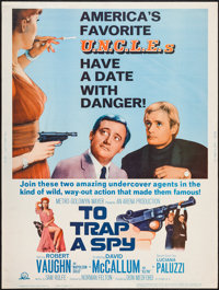 """To Trap a Spy (MGM, 1966). Poster (30"""" X 40""""). Action"""