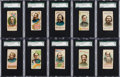 "Non-Sport Cards:Sets, 1888 N78 Duke ""History Of Generals"" Complete Set (50). ..."