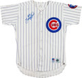 Baseball Collectibles:Uniforms, 1994 Sammy Sosa Game Worn Chicago Cubs Jersey....