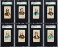 "Non-Sport Cards:Sets, 1890 N309 American Eagle ""U.S. Presidents"" SGC-Graded Complete Set(23). ..."