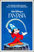 "Movie Posters:Animation, Fantasia (Buena Vista, R-1982/R-1990). One Sheets (2) (27"" X 41""). Animation.. ... (Total: 2 Items)"