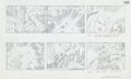 "Original Comic Art:Miscellaneous, Jack Kirby Fantastic Four ""Blastaar the Living Bomb Burst""Storyboard #48 Original Animation Art (DePatie-Freleng,..."