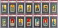 Baseball Cards:Lots, 1909-11 T206 White Border Tobacco Card Collection (345) With ScarceBrands & HoFers. ...