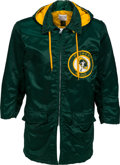 Football Collectibles:Uniforms, Late 1960s Green Bay Packers Band Jacket - With Brilliant Chenille Patch!...