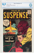 Silver Age (1956-1969):Science Fiction, Tales of Suspense #4 (Marvel, 1959) CBCS VF+ 8.5 White pages....