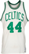 Basketball Collectibles:Uniforms, Mid-1980's Danny Ainge Game Worn Boston Celtics Jersey....