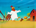 Animation Art:Production Cel, Foghorn Leghorn and Henery the Hawk - Kentucky Fried Chicken TVCommercial Production Cel Setup (Yum! Brands/Warner Brothers, ...(Total: 2 Items)