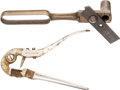 Other Hand Weapons, Pair of Rare Sharps Style Priming Pliers.... (Total: 2 )