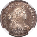 Early Dimes, 1796 10C JR-6, R.3, MS64 ★ Prooflike NGC....
