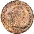 Early Dimes, 1796 10C JR-5, R.5, AU55 PCGS....