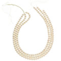 Estate Jewelry:Other , Cultured Pearl Hank. ...