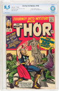 Silver Age (1956-1969):Superhero, Journey Into Mystery #106 (Marvel, 1964) CBCS VF+ 8.5 Whitepages....