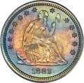 Proof Seated Quarters, 1882 25C PR67 PCGS. CAC. Briggs 2-B....