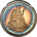 Proof Seated Quarters, 1889 25C PR68 ★ NGC. Briggs 2-B....