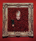 Photographs:Chromogenic, Len Prince (American, b. 1953). Deborah Harry with Roses,1992. Dye coupler. 56-1/2 x 50 inches (143.5 x 127 cm). Photog...