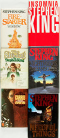 Books:Horror & Supernatural, Stephen King. Group of Six. Various publisher's and dates.. ...(Total: 6 Items)