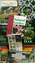 Books:Natural History Books & Prints, [Gardening]. Group of Nine Books. Various publisher's and dates.. ... (Total: 9 Items)
