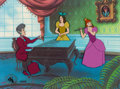 Animation Art:Limited Edition Cel, Cinderella The Music Lesson Limited Edition Cel #106/500(Walt Disney, 1987)....