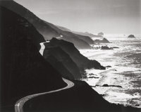Henry Edmund Gilpin (American, 1922-2011) US Highway Route 1, 1965 Gelatin silver, printed later