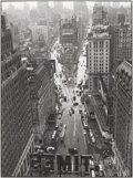 Photographs:Gelatin Silver, Lou Stoumen (American, 1917-1991). Times Square in the Rain,1940. Gelatin silver, 1980s. 12-1/4 x 9-1/8 inches (31.1 x ...