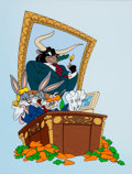 Animation Art:Limited Edition Cel, Bugs Bunny and Daffy Duck More Bull Than The Market Can BearLimited Edition Sericel Set of 2 #703/5000 (Warner Br...
