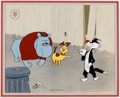 Animation Art:Limited Edition Cel, Sylvester Anticipation Limited Edition Cel #56/750 (WarnerBrothers, 1992)....
