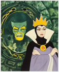 Animation Art:Seriograph, Snow White and the Seven Dwarfs Mirror Mirror on the Wall Evil Queen Limited Edition Lithograph Print #235/250 (Wa... (Total: 2 Items)