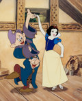 Animation Art:Seriograph, Snow White and the Seven Dwarfs Limited Edition Sericel(Walt Disney, 1999)....