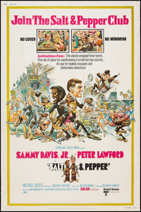 "Salt and Pepper & Other Lot (United Artists, 1968). Posters (2) (40"" X 60""). Comedy. ... (Total: 2 Ite..."