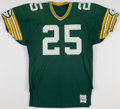Football Collectibles:Uniforms, 1985 Harlan Huckleby Game Worn Green Bay Packers Jersey....