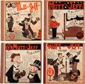 Platinum Age (1897-1937):Miscellaneous, Mutt and Jeff Group (Cupples & Leon, 1925-30) Condition:Average VG.... (Total: 4 Comic Books)