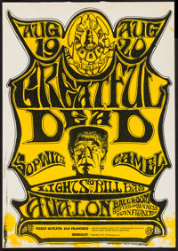 """The Grateful Dead at the Avalon Ballroom (Family Dog, 1966). Concert Poster (14"""" X 20""""). Rock and Roll"""